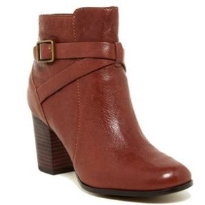 Cole Haan Grandos Cassidy Brown Ankle Booties 8B